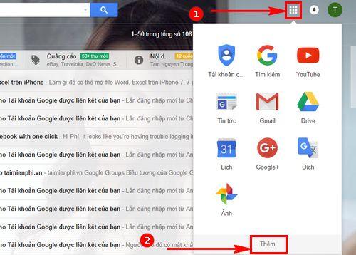 Cách tạo trang Google Sheets Excel trực tuyến