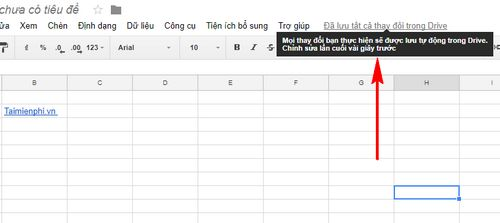 cach tao trang google sheets excel 9