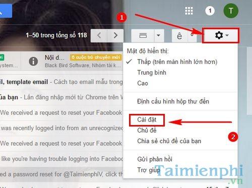 cach dang nhap facebook bang gmail