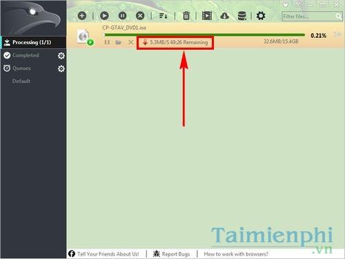 Cách dùng Eagleget miễn phí tải file nhanh trên máy tính