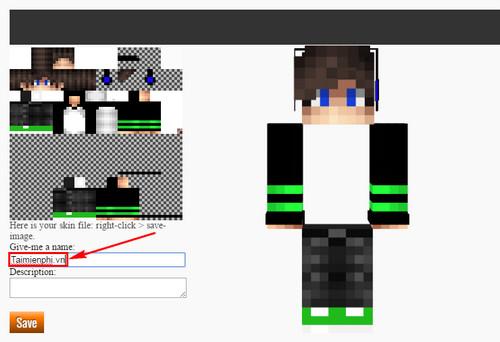 Cách thay skin cho Minecraft, cài skin minecraft 2