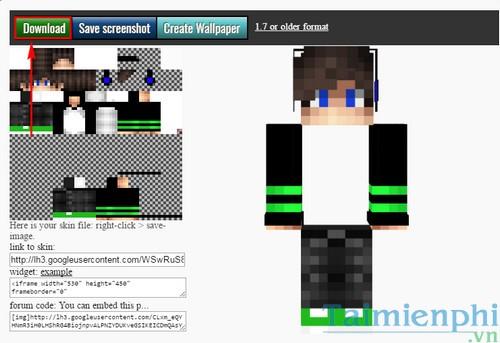Cách thay skin cho Minecraft, cài skin minecraft 3