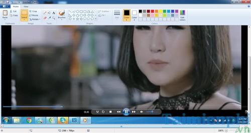 Chụp hình video khi xem trên Windows Media Player