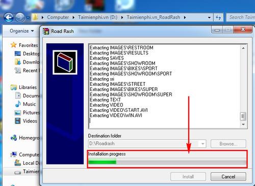 Hướng dẫn tải và cài đặt game Road Rash không bị lỗi Windows 7 2