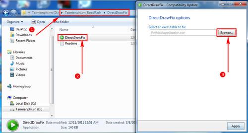 Hướng dẫn tải và cài đặt game Road Rash không bị lỗi Windows 7 3