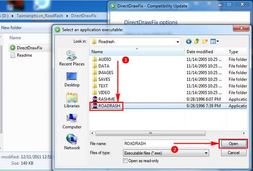 Hướng dẫn tải và cài đặt game Road Rash không bị lỗi Windows 7 4