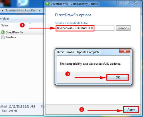 Hướng dẫn tải và cài đặt game Road Rash không bị lỗi Windows 7 5