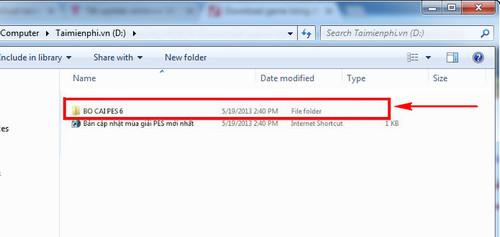 Hướng dẫn tải và cài đặt PES 6 Đồng Như Kiều update 0