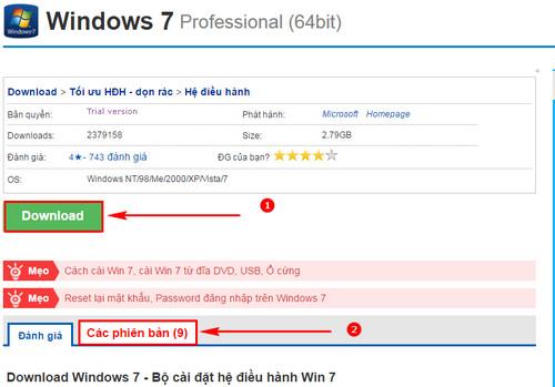 huong dan tai windows 7 truc tiep tu microsoft tai windows 7 iso chinh chu