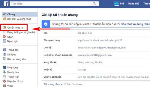 Mẹo không cho tìm số điện thoại trên Facebook, chặn tìm fb theo sđt