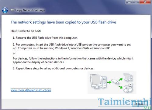Sao lưu và khôi phục thiết lập mạng Wifi trên Windows 7