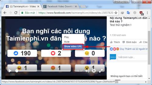 Tải nhanh video trên Facebook không cần dùng phần mềm