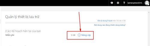 Tăng dung lượng lưu trữ OneDrive cho Windows 10 2