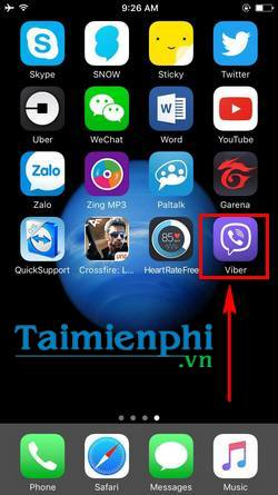 cach chat an tren viber tren iphone android an cuoc tro chuyen viber