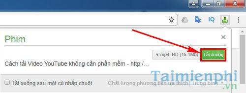Đưa tính năng tự động bắt Link của Coc Coc vào Chrome