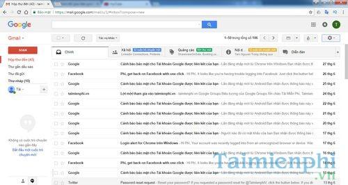 Cách đưa hình ảnh của gia đình vợ, con, bạn gái, người yêu làm ảnh giao diện Gmail