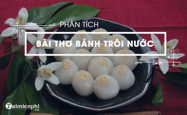 Phân tích bài thơ Bánh trôi nước của Hồ Xuân Hương 5