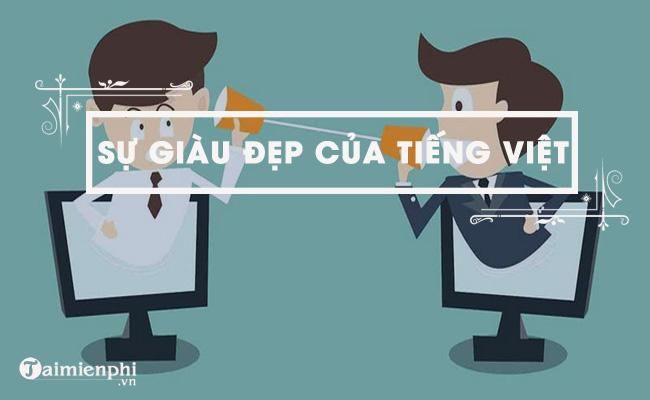 Sự giàu đẹp của Tiếng Việt - Đặng Thai Mai