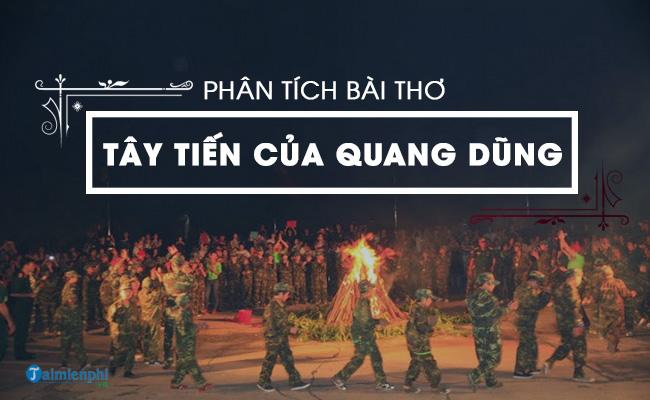 Phân tích bài thơ Tây Tiến của Quang Dũng 6