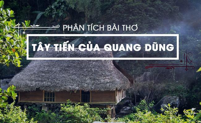 Phân tích bài thơ Tây Tiến của Quang Dũng 7
