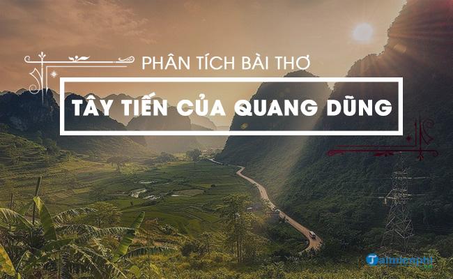 Phân tích bài thơ Tây Tiến của Quang Dũng 8