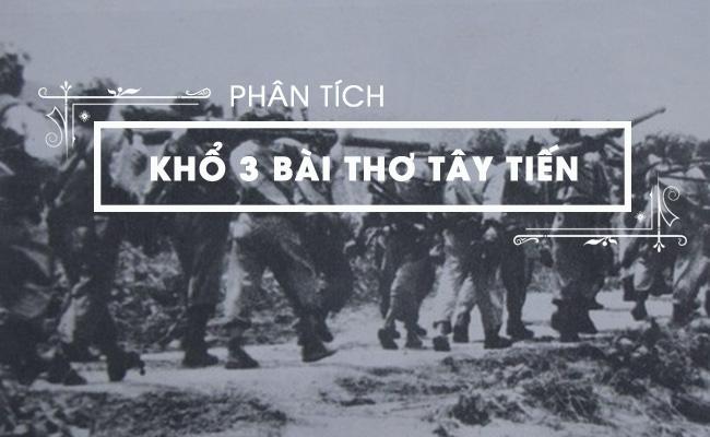 Phân tích khổ 3 bài thơ Tây Tiến của Quang Dũng 3
