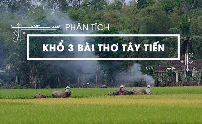 Phân tích khổ 3 bài thơ Tây Tiến của Quang Dũng 5