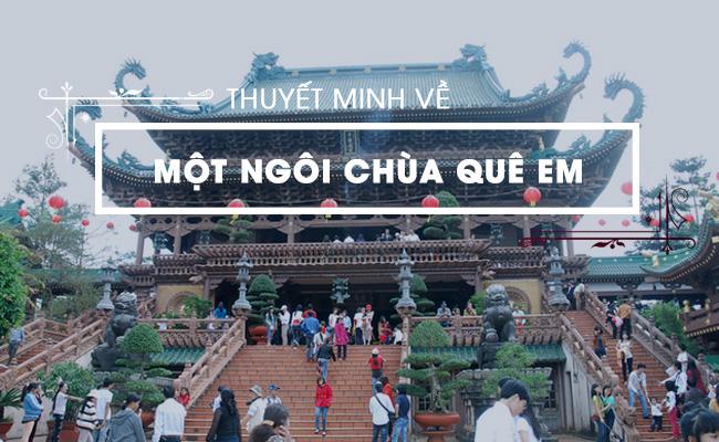 Thuyết minh về một ngôi chùa ở quê em