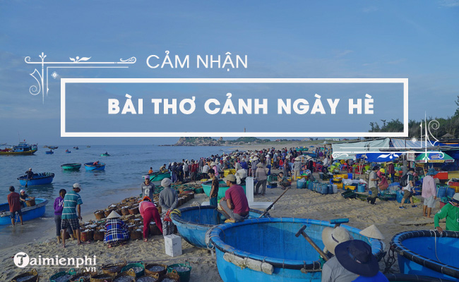 Cảm nhận về bài thơ Cảnh ngày hè của Nguyễn Trãi 4