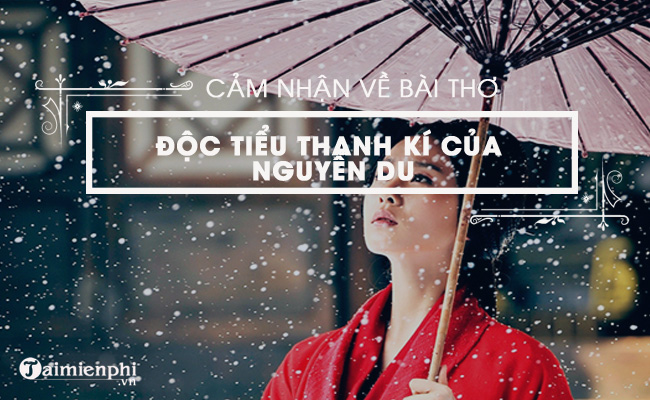 Cảm nhận về bài thơ Độc Tiểu Thanh kí của Nguyễn Du 2