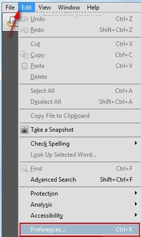 phuc hoi vi tri cuoi khi mo lai file pdf