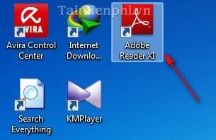 tat chuc nang tim kiem nhanh Adobe reader