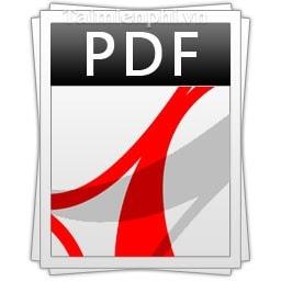 Vo hieu hoa, tat thong bao khi doc PDF trong Adobe Reader