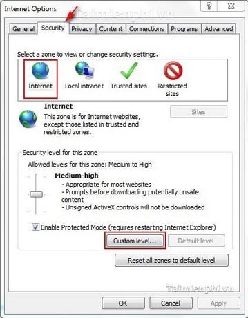 Lỗi chưa kích hoạt JavaScript, Adobe Flash Player không xem được video trên trình duyệt