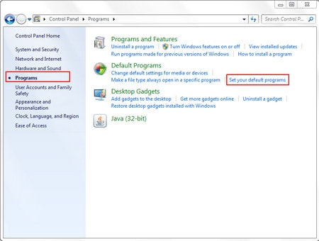Đặt trình duyệt Web mặc định cho Yahoo! Mail