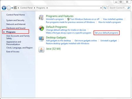 Set the default Web browser for Yahoo! Mail