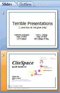 hướng dẫn copy, paste dữ liệu trong PowerPoint