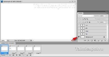 Cách tạo ảnh động bằng Photoshop, làm ảnh Gif đơn giản nhất