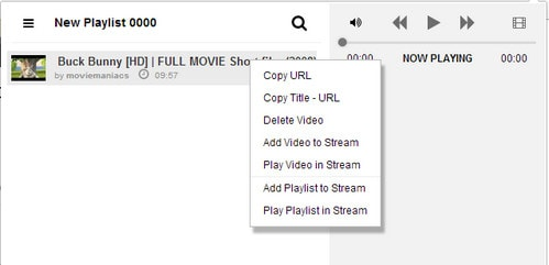 How to create a video on Youtube Playlist from the Chrome