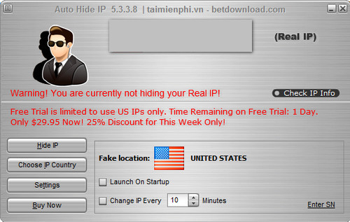 how to change ip address to vote multiple times