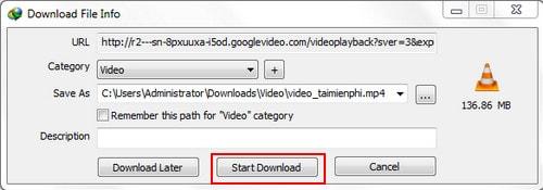 VLC Media Player - Cách tải Video Youtube về máy tính