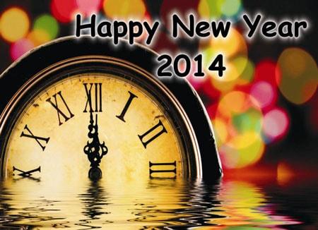 Bộ hình nền năm mới 2014 độc đáo, ấn tượng