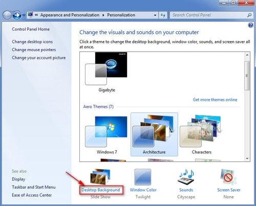 Cách đổi hình nền máy tính, thay ảnh màn hình desktop, laptop Windows 10, 8.1 , 7 8