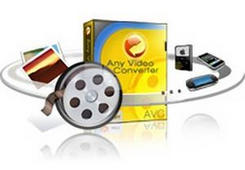 chuyen doi video bang Any Video Converter Professional