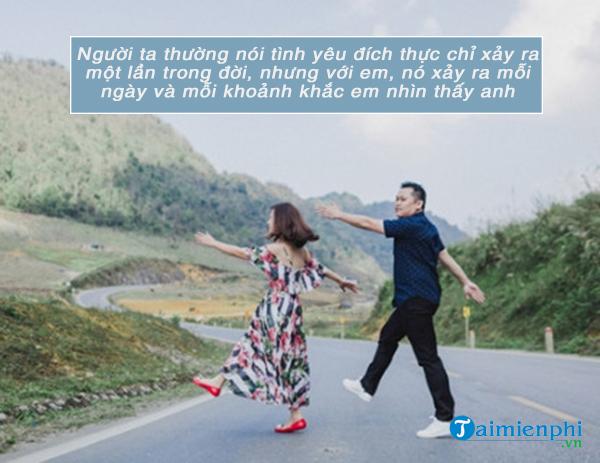 Tin nhắn tình yêu ngọt ngào và lãng mạn cho bạn trai 3