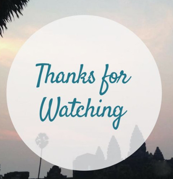 Mẫu slide cảm ơn 12