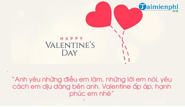 hinh anh chuc mung Valentine dep nhat