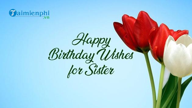 Những lời chúc sinh nhật cho em gái hay nhất 2