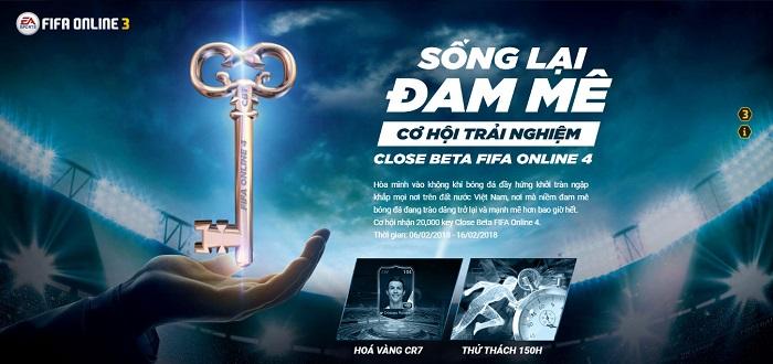 cach nhan key fifa online 4 ban close beta