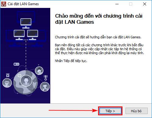 cach su dung lan games garena choi game online